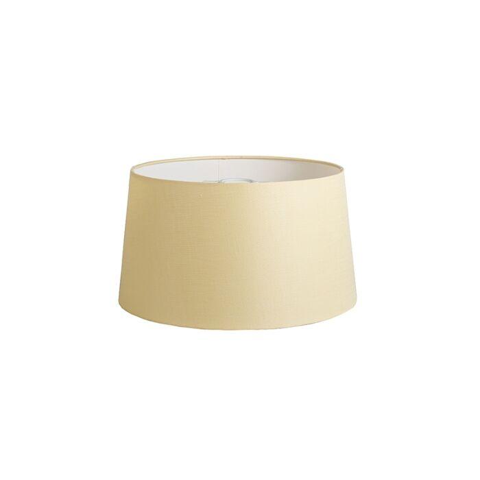 Kap-40cm-rond-DS-E27-linnen-creme