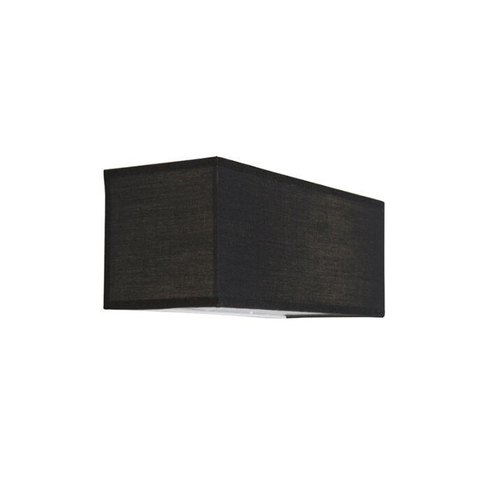 Wandlamp-Drum-Basic-rechthoek-zwart