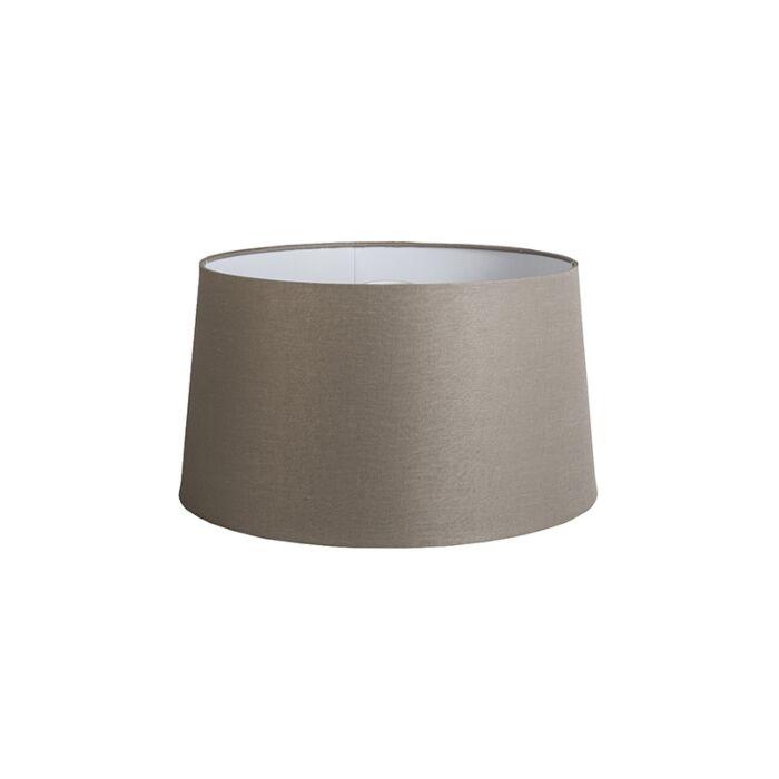 Linnen-lampenkap-taupe-45-cm