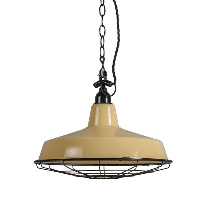 Hanglamp-Loek-geel