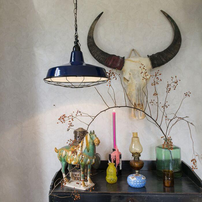 Hanglamp-Loek-donkerblauw