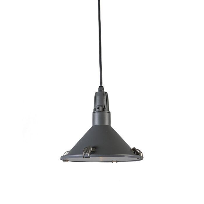Hanglamp-Vida-donkergrijs-IP44