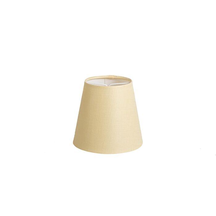 Klemkap-12cm-rond-SC-geel