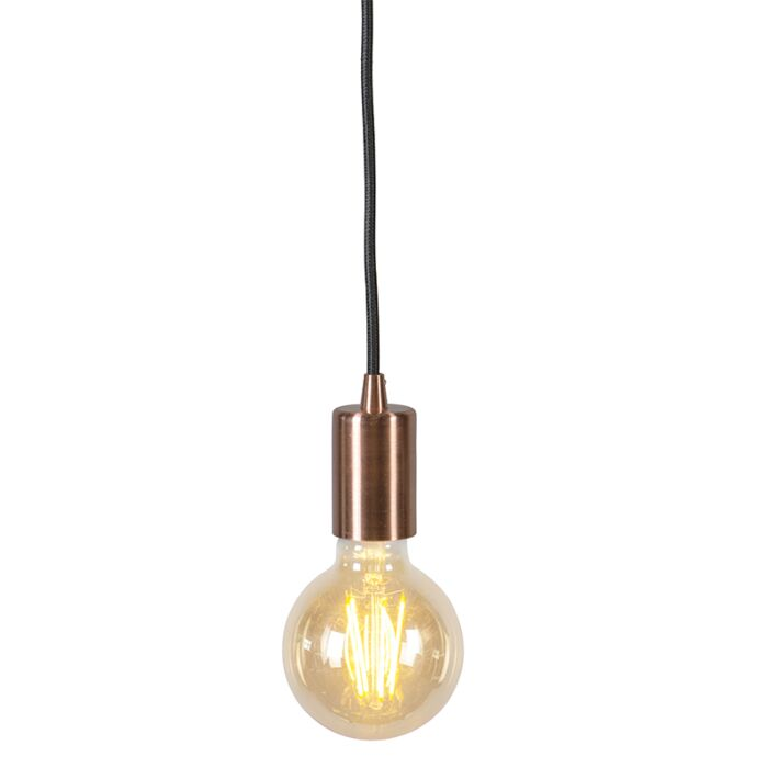 Industriële-hanglamp-koper---Facil-1