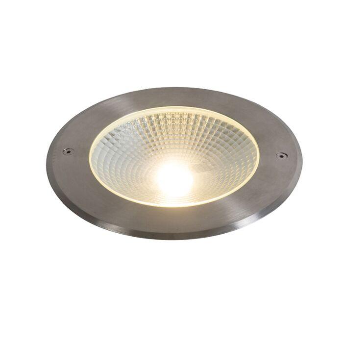 Moderne-grondspot-aluminium-incl.-LED-20W---Bridge