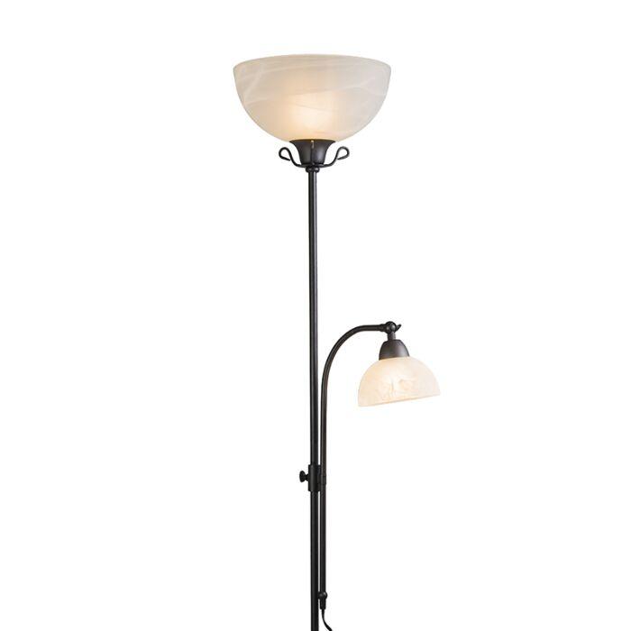 Vloerlamp-Dallas-2-roestbruin
