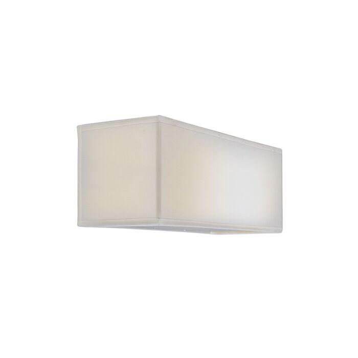 Wandlamp-Drum-Basic-rechthoek-creme