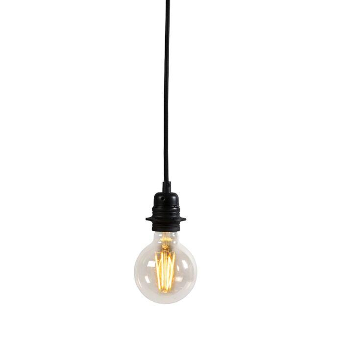 Moderne-hanglamp-zwart-dimbaar---Cava-Luxe-1