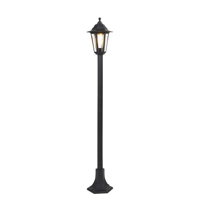 Klassieke-lantaarn-zwart---New-Haven