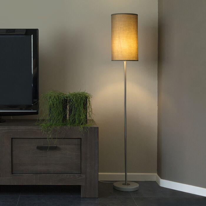 Vloerlamp-Concreto-taupe