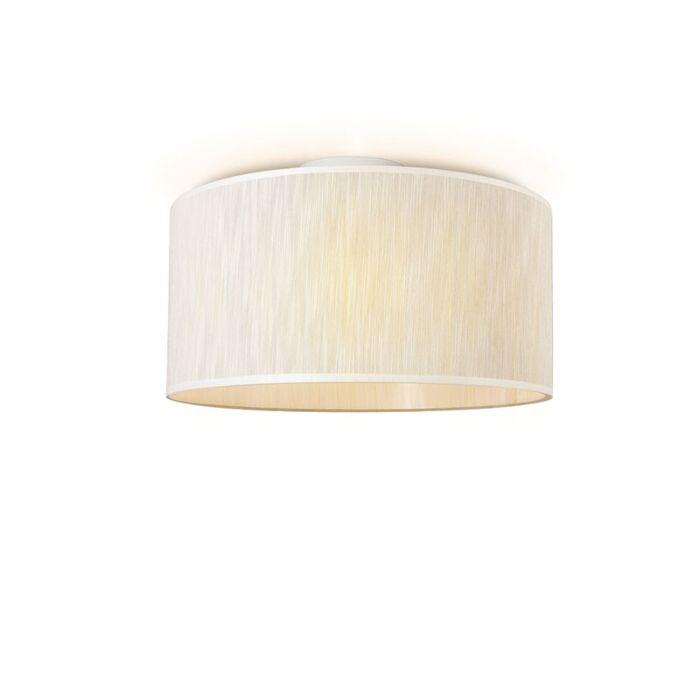 Plafonniere-Drum-45-lichtbruin-gemeleerd