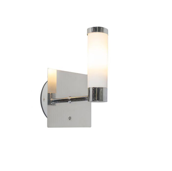 Klassieke-wandlamp-chroom-IP44---Bath-1
