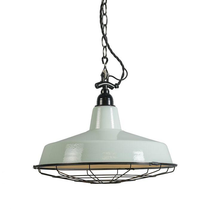 Hanglamp-Loek-lichtgroen