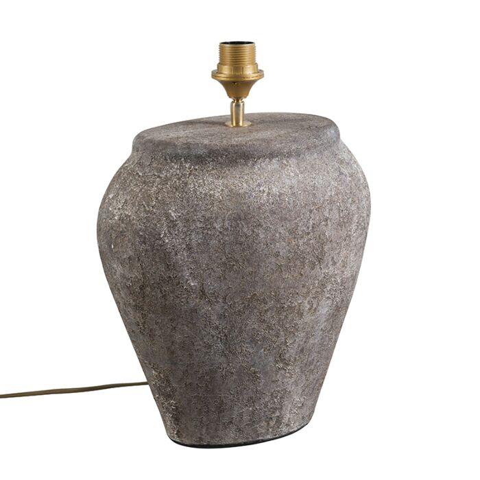 Tafellamp-Blava-ovaal-vintage