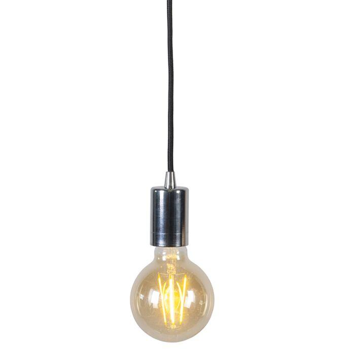 Moderne-hanglamp-chroom---Facil-1