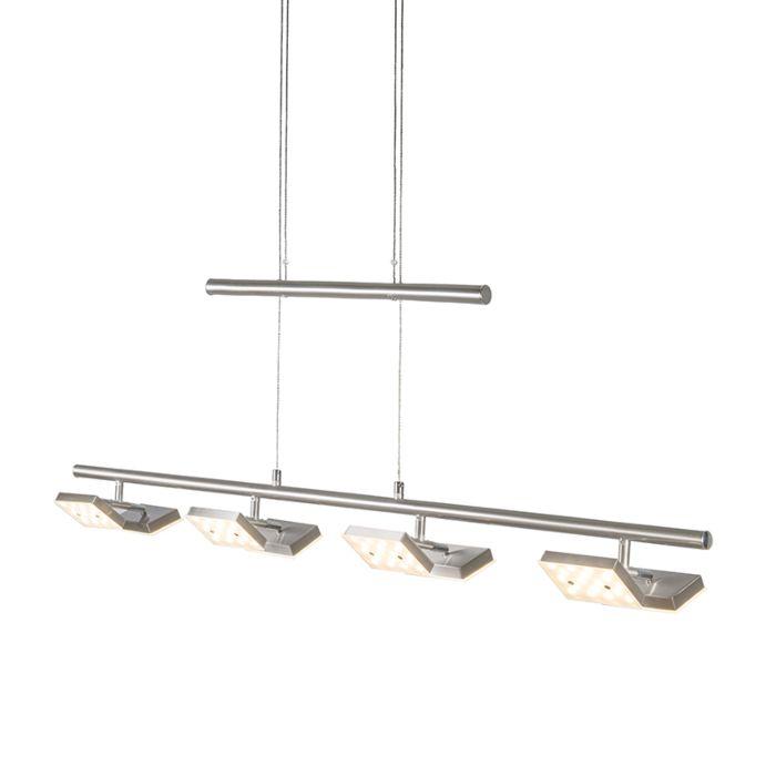 Hanglamp-Quatre-staal