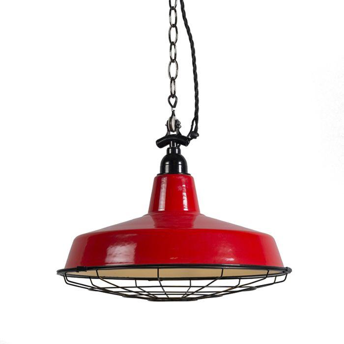 Hanglamp-Loek-rood