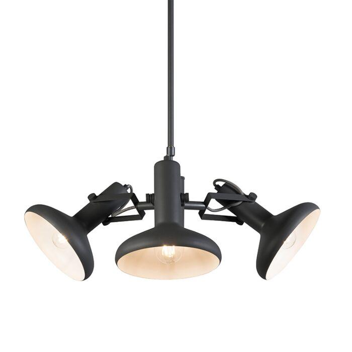 Hanglamp-Grace-3-donkergrijs