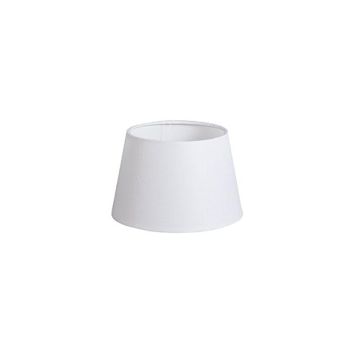 Kap-20cm-rond-DS-E27-linnen-wit