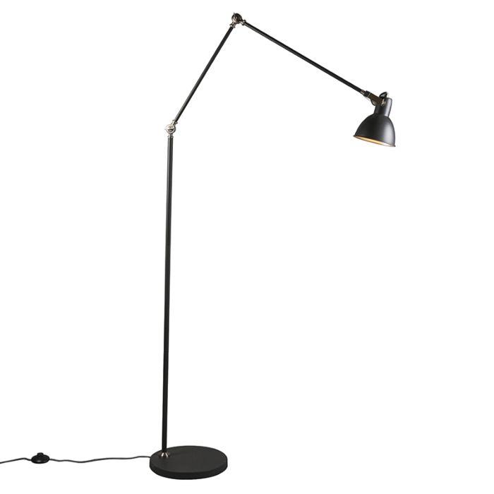 Vloerlamp-Dazzle-grijs