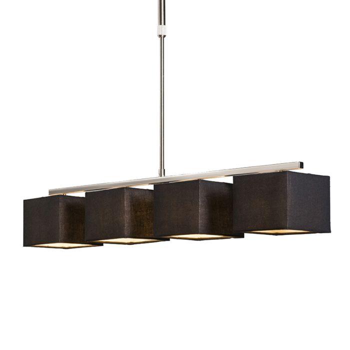Hanglamp-VT-4-zwart