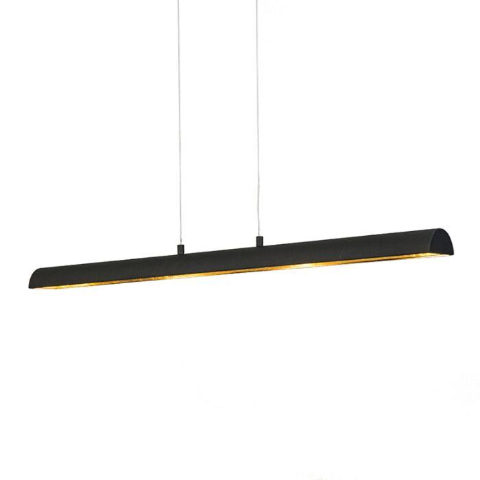 Hanglamp-Tunnel-zwart