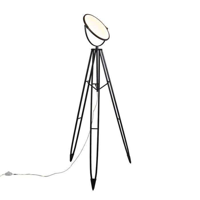 Vloerlamp-Stativ-zwart