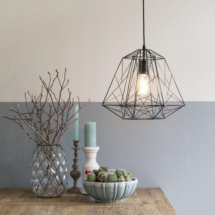 Design-hanglamp-zwart---Framework
