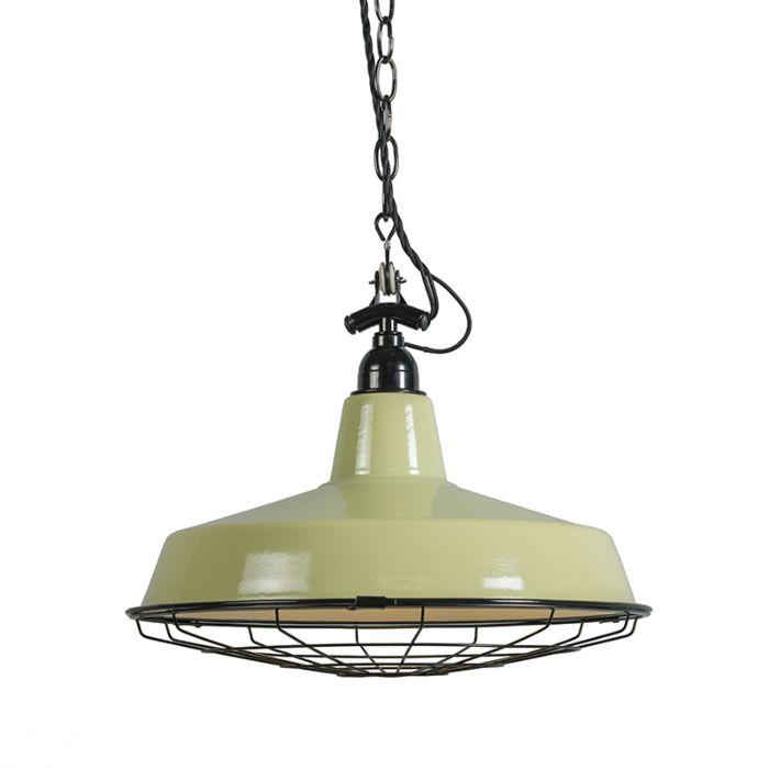 Hanglamp-Loek-olijfgroen