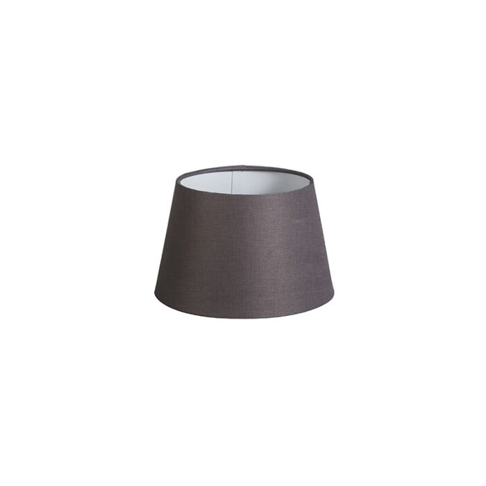 Kap-20cm-rond-DS-E27-linnen-bruingrijs