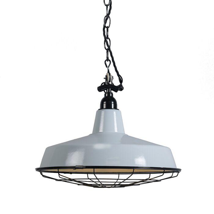 Hanglamp-Loek-lichtblauw