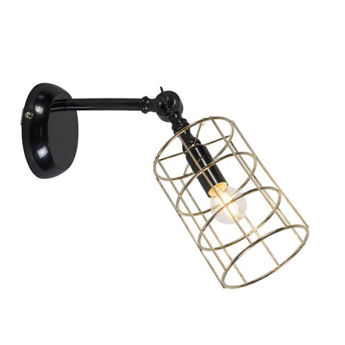 Wandlamp-Frame-C-goud