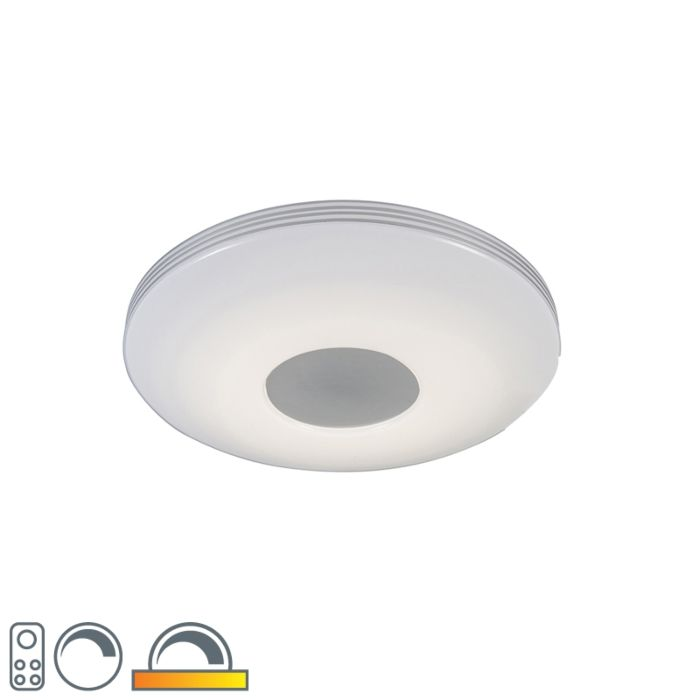 Moderne-plafondlamp-incl.-LED-met-afstandsbediening---Trezetto