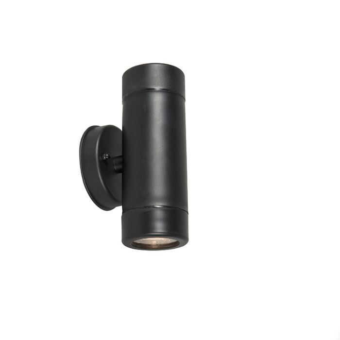 Wandlamp-Duo-zwart