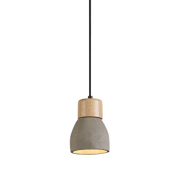 Hanglamp-Torcia-beton-met-hout