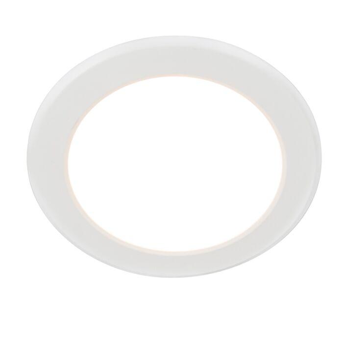 Moderne-inbouwspot-wit-incl.-LED---Unit