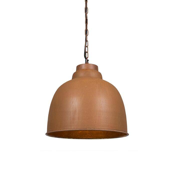Vintage-hanglamp-roestbruin---Patriot