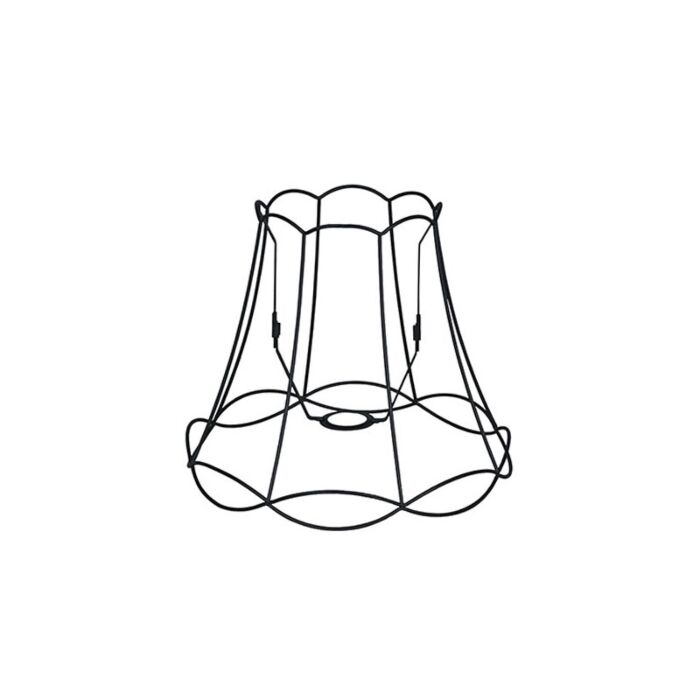 Metalen-lampenkap-zwart-35/29---Granny-Frame
