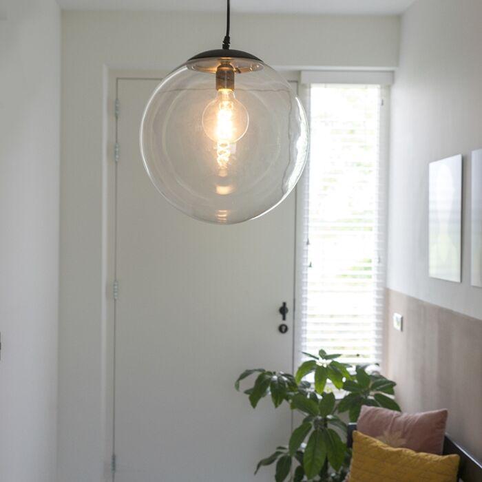 Moderne-hanglamp-transparant-35-cm---Pallon