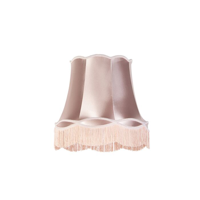 Zijde-lampenkap-roze-45-cm---Granny