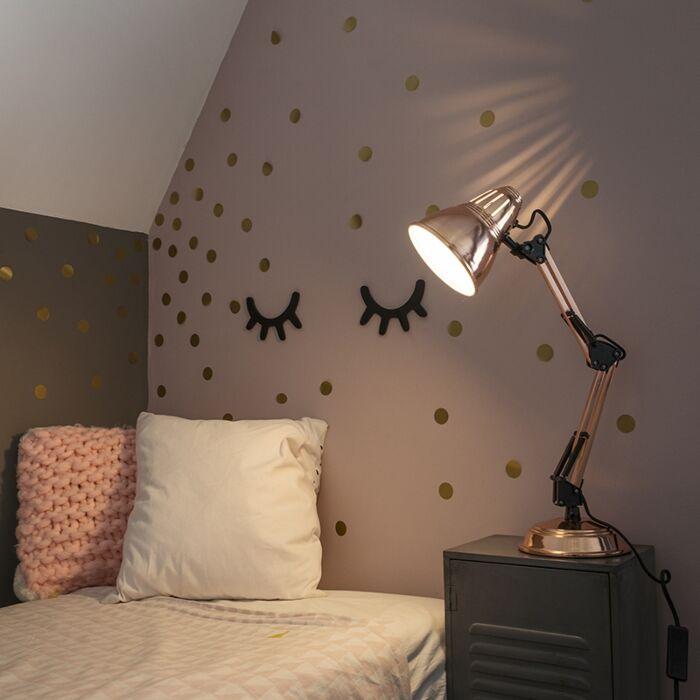 Tafellamp-Buzz-koper