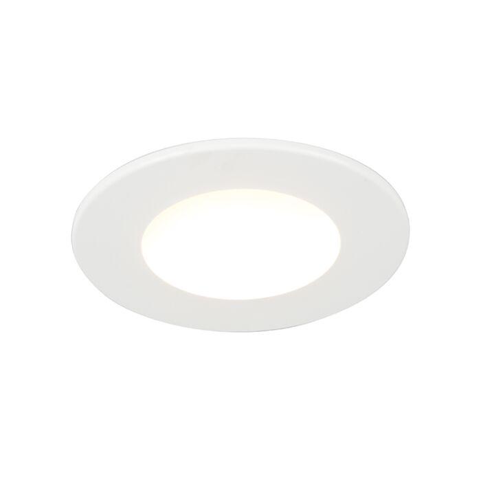 Inbouwspot-wit-incl.-LED-350-lumen-3000K-5W-IP65---Blanca
