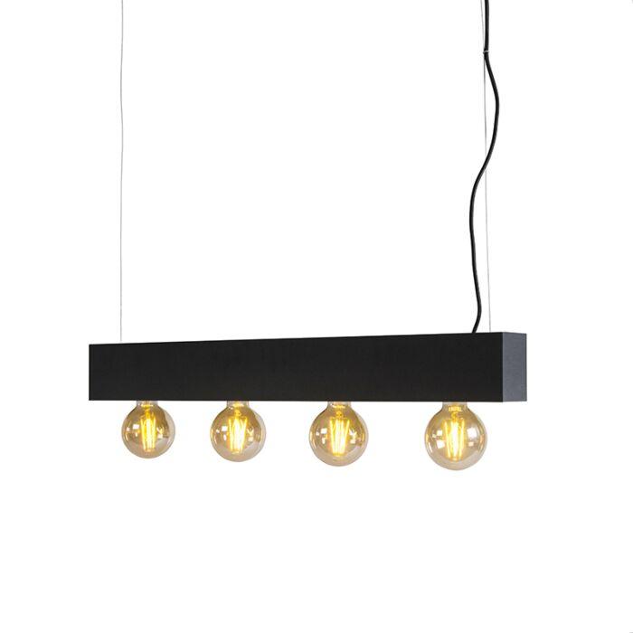 Hanglamp-4-Fasci-zwart