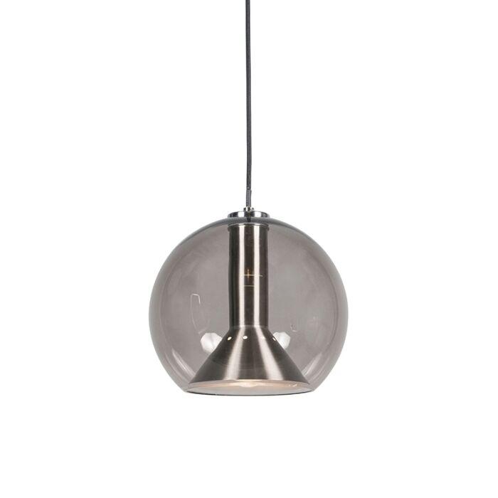 Retro-hanglamp-zwart---Strike-small