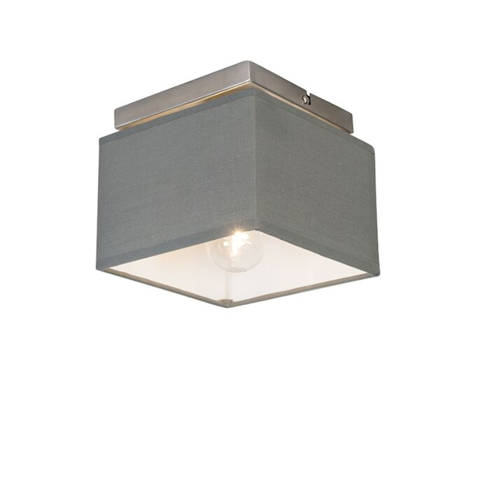 Moderne-plafonnière-grijs---VT-1