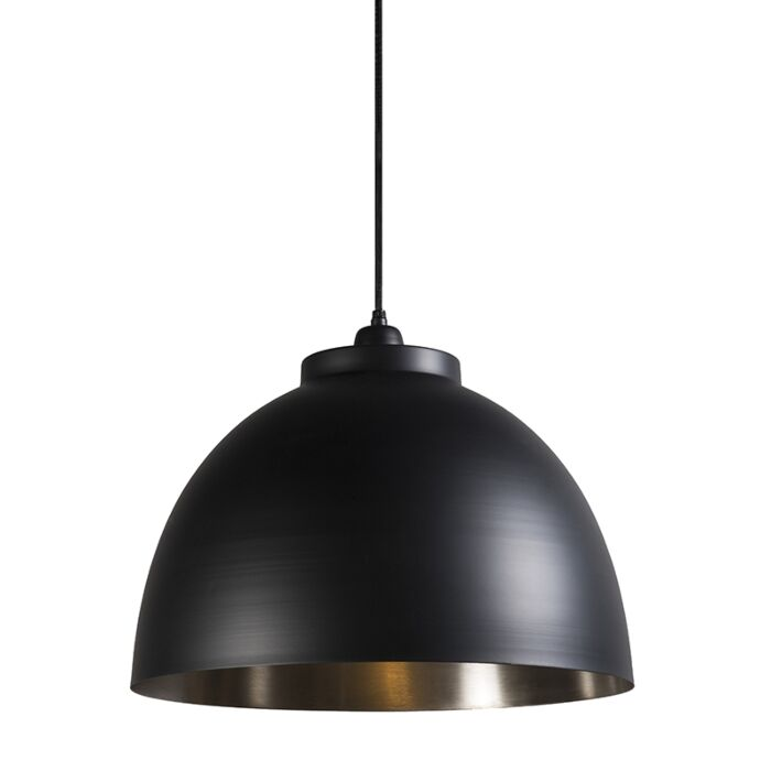 Hanglamp-Hoodi-zwart-nikkel