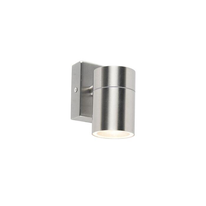 Buitenwandlamp-staal-IP44---Solo