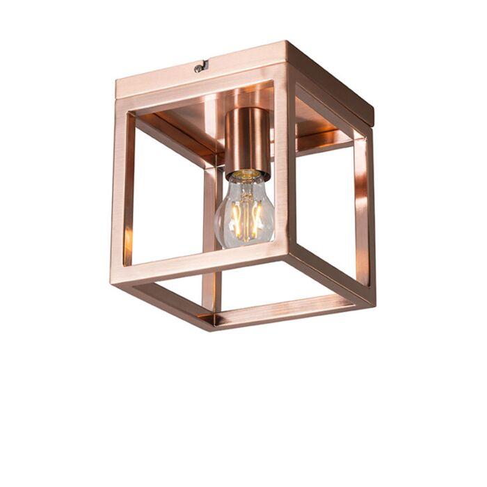 Plafondlamp-Cage-1-koper