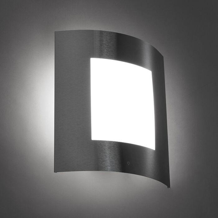 Moderne-wandlamp-staal-IP44---Emmerald-1