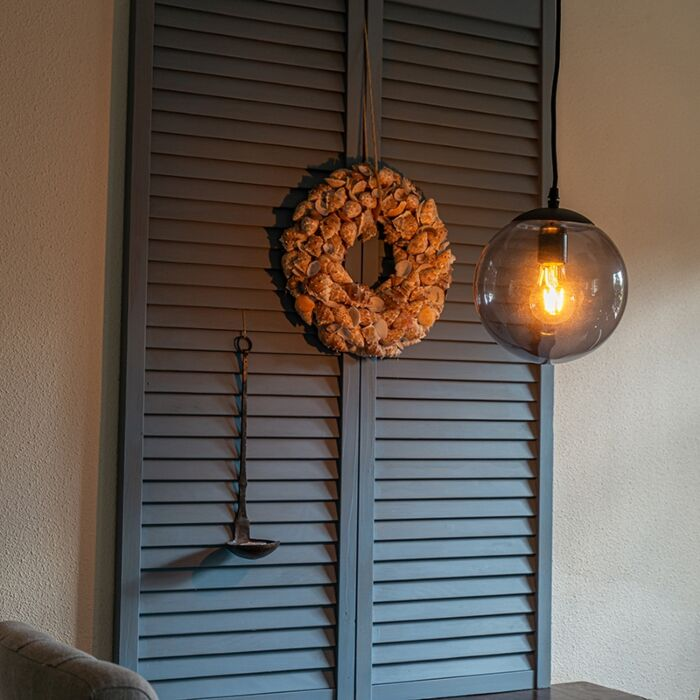 Moderne-hanglamp-grijs-20-cm---Pallon